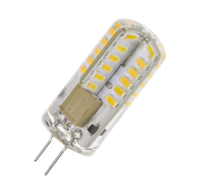 Led bulb G4 3W 3000K warm white hesion hs01003 e14 3w 270lm 3000k 3 led warm white candle light ac 85 265v