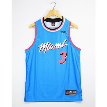NBA Miami TopTank Meshed Male Undershirt Wade 3
