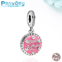 2020 Fashion Jewelry Making Fit Pandora Charms Silver 925 Original Bracelet Pendants 925 Sterling Silver Birthday Beads DIY Gift new arrival 925 silver charms beads with colorful cz stone fit authentic pandora bracelet diy fashion jewelry making women gift