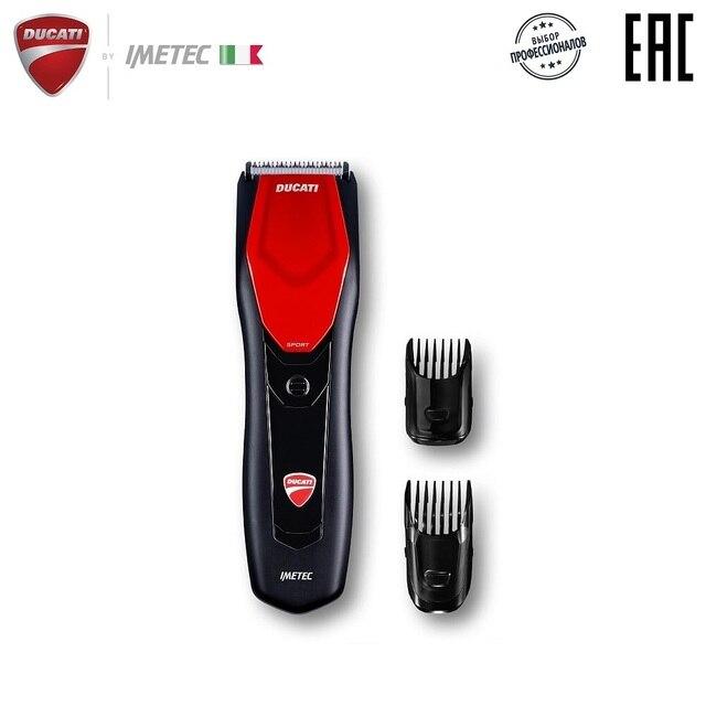 Машинка для стрижки волос Ducati by Imetec, HC 719 STEERING, работает от сети и аккумулятора, две насадки, набор для чистки