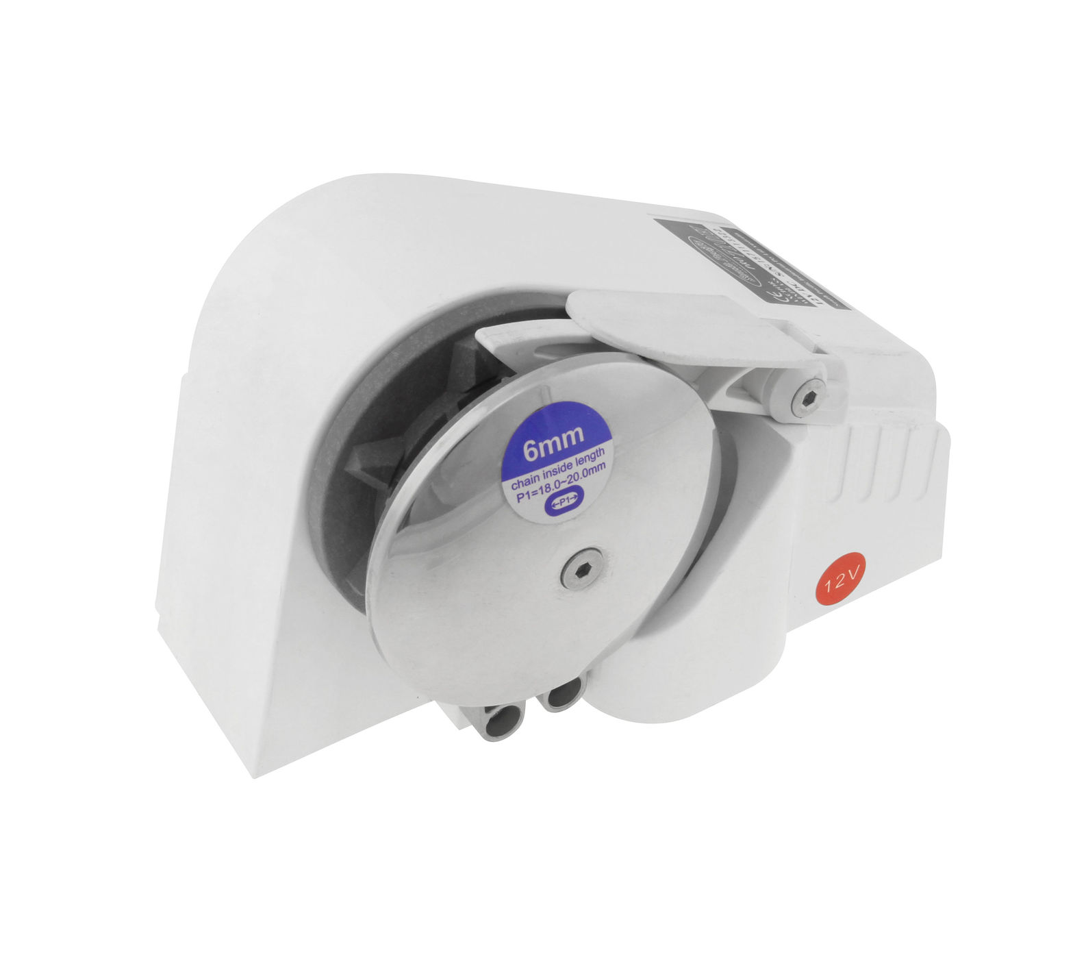 12 V 710H Winch For 4.5 M To 6 M Vessels Or Anchors Up To 7 Kg 7569710100 _