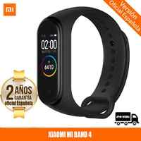 -Version officielle et garantie Española-Xiaomi My Band 4 Smartwatch Bracelet intelligent 0.95 pouces AMOLED écran couleur Monit