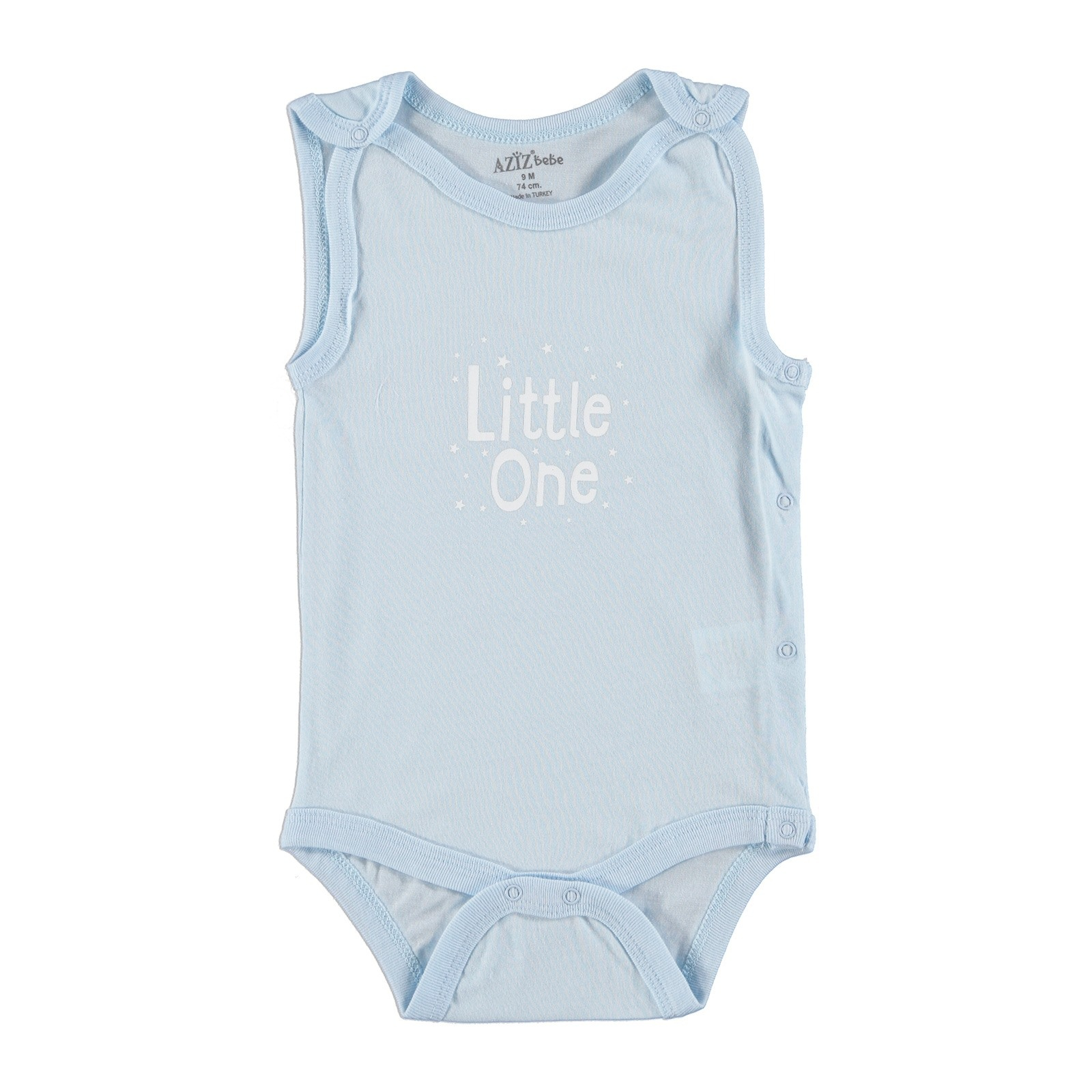 Ebebek Aziz Bebe Baby Girls & Boys Summer Short Sleeve Bodysuit
