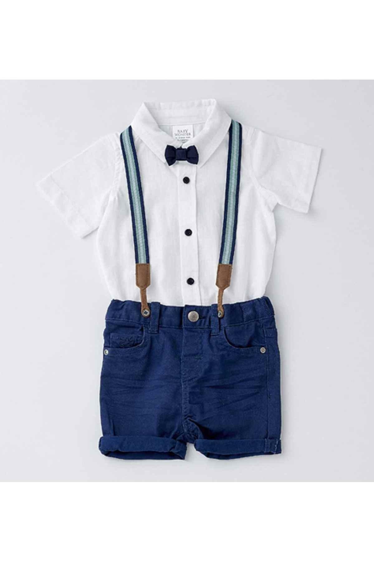 linen shorts baby boy