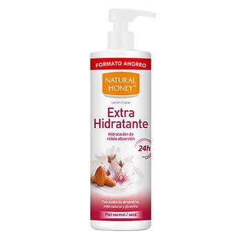 Loción Corporal Aceite Almendras Dulces Natural Honey (700 ml)