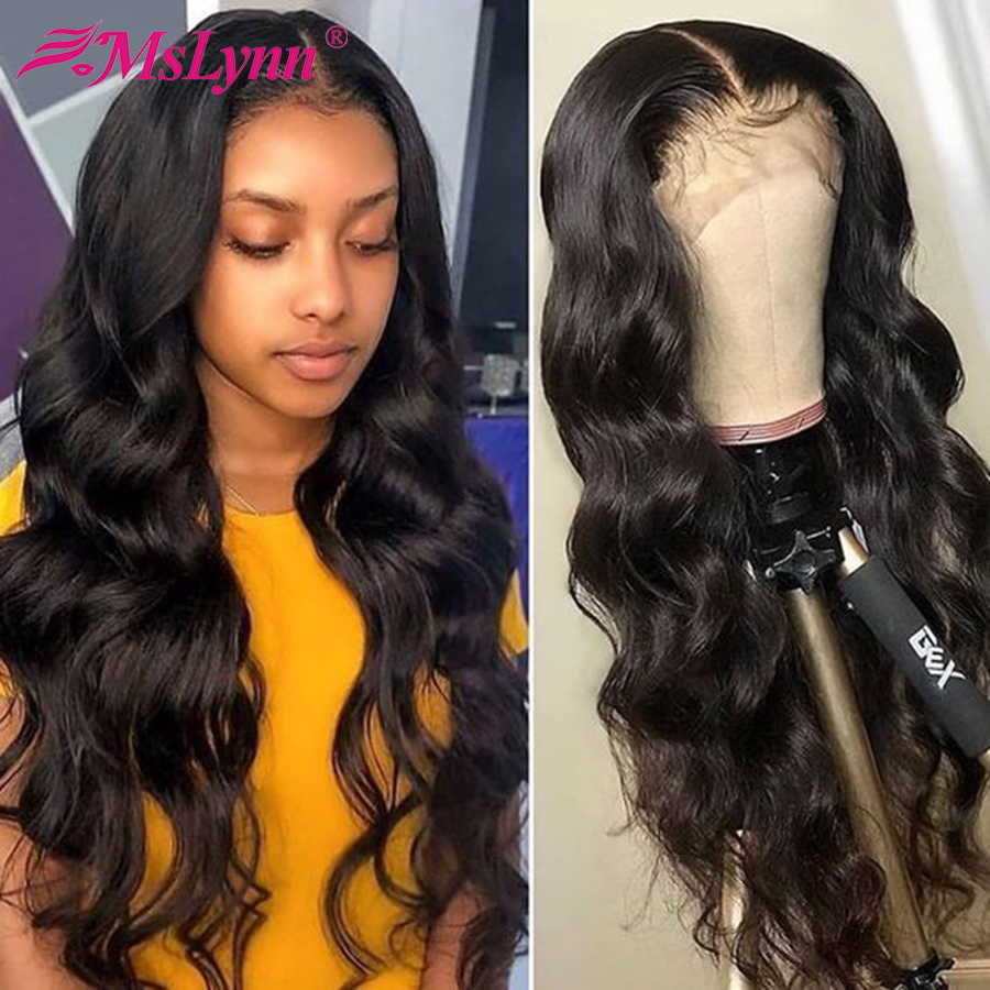 Lace Front Wig For Women Mslynn Lace Front Human Hair Wigs Brazilian Body Wave Lace Front Wig Pre Plucked Lace Wig Remy Hair