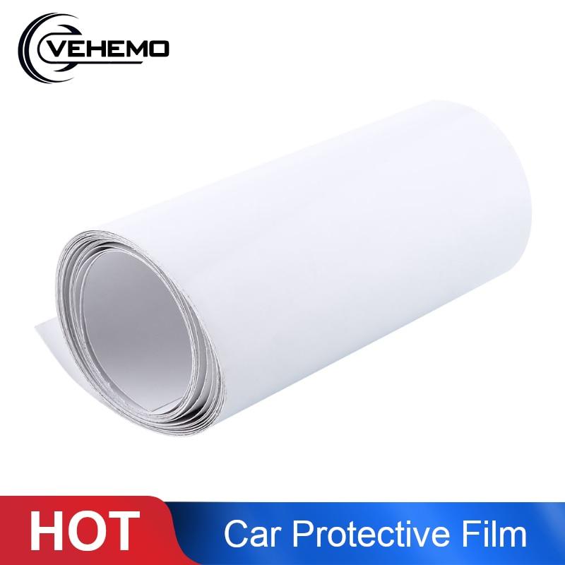 Vehemo 3Mx15CM Clear Transparent Car Protective Film Cover Vinyl Wraps Skin Stickers