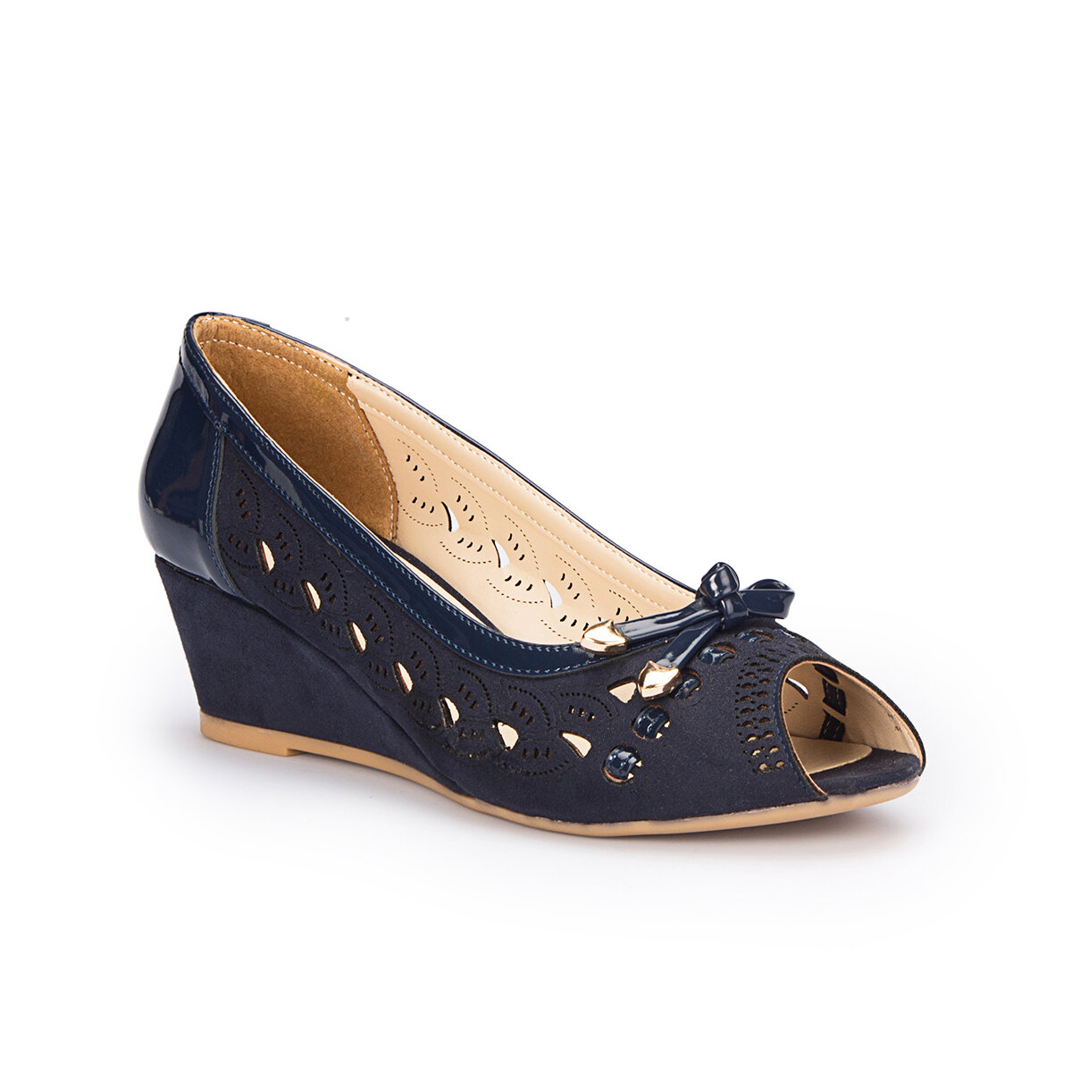 FLO 71.309766.Z Navy Blue Women Sandals Polaris