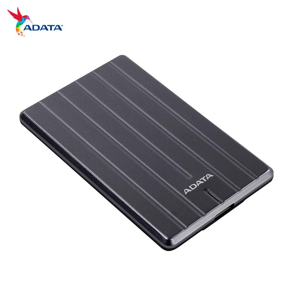 Hard Drive ADATA Hc660 External Hdd-1tb-usb 3.2 Gen1-titanium (ahc660-1tu31-cgy)