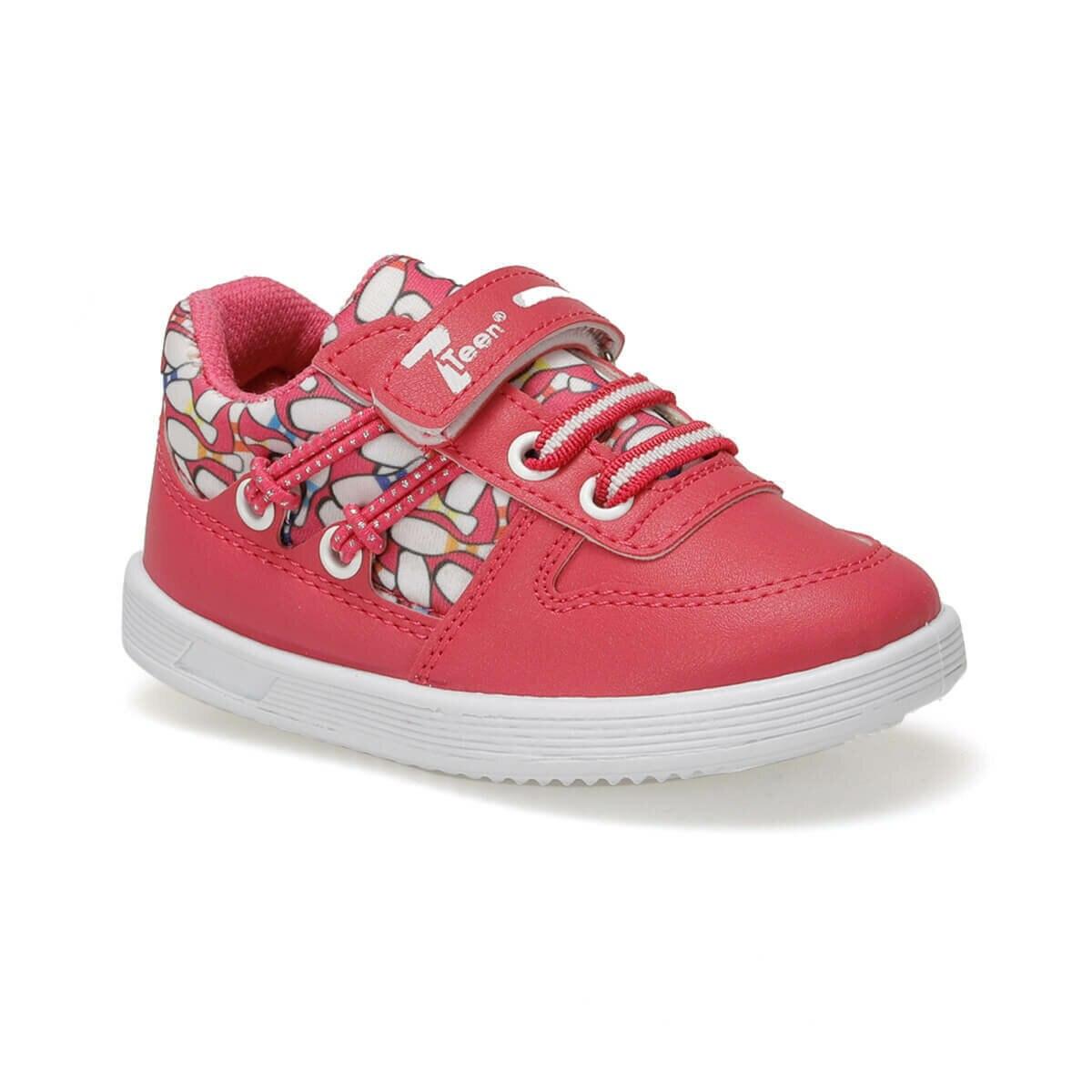 FLO WEENY Fuchsia Female Child Sneaker Shoes I-Cool