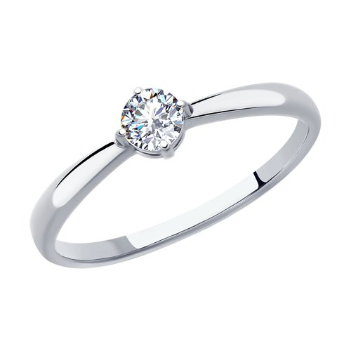 Ring. Sterling Silver With Cubic Zirconia