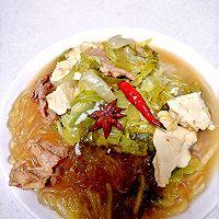 大白菜豆腐炖粉条(东北冬季下饭家常菜)的做法图解11