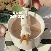 """#美食说出""""新年好""""#麋鹿苏打饼干&雪人巧克力奶的做法图解11"""