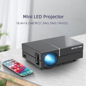 Image 3 - BYINTEK K8 Mini LED แบบพกพา1080P 150นิ้วโฮมเธียเตอร์โปรเจคเตอร์ดิจิตอลสำหรับ3D 4K Cinema (อุปกรณ์เสริม Android 10กล่องทีวี)