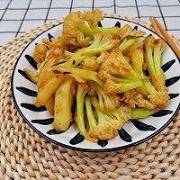 #太太乐鲜鸡汁芝麻香油#0厨艺也能做出鲜掉眉毛的干煸花菜的做法图解8