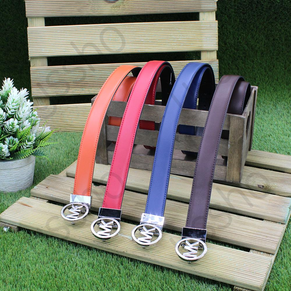 Belt Leather Thin Reversible Slim Metal Silver Elastic Waist Belt With Cam Buckle's Camera Clothing Accessories