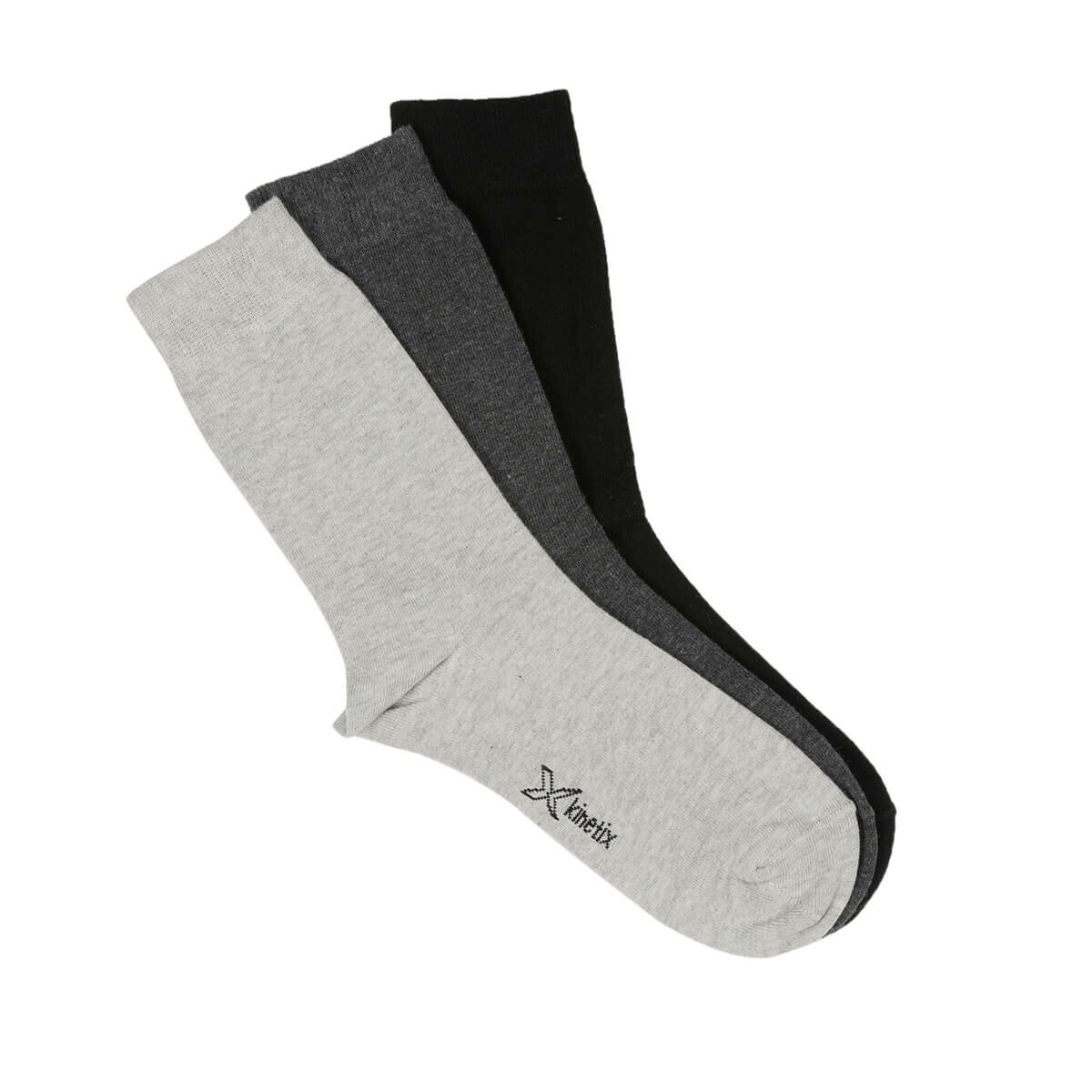 FLO ROBIN Anthracite Men Socks KINETIX