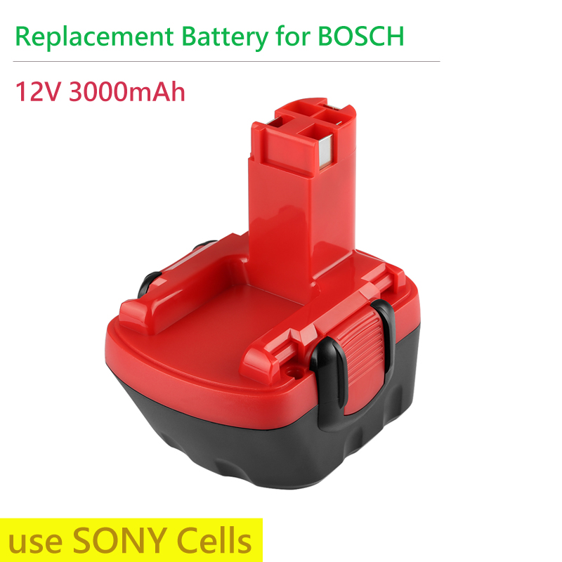 Сменный аккумулятор для BOSCH, 12 В, 3000 мАч, перезаряжаемый аккумулятор для электроинструмента точный 8/точный 12/точный 700