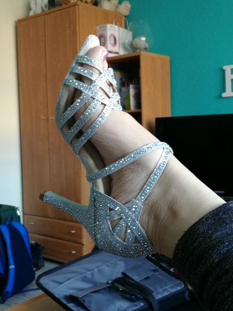 Sapatos de dança Strass Latina Mulheres