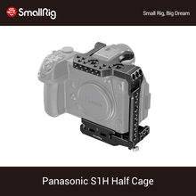 SmallRig S1H Half Cage for Panasonic S1H Dslr Camera Cage With NATO Rail & Cold Shoe Mount Vlog Video Shooting Rig  2513