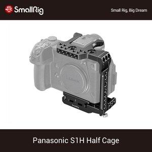 Image 1 - SmallRig S1H pół klatka dla Panasonic S1H Dslr kamera klatka z NATO Rail & Cold Shoe Mount Vlog wideo strzelanie Rig  2513