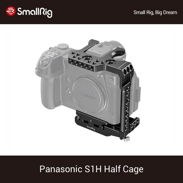 SmallRig S1H pół klatka dla Panasonic S1H Dslr kamera klatka z NATO Rail & Cold Shoe Mount Vlog wideo strzelanie Rig  2513