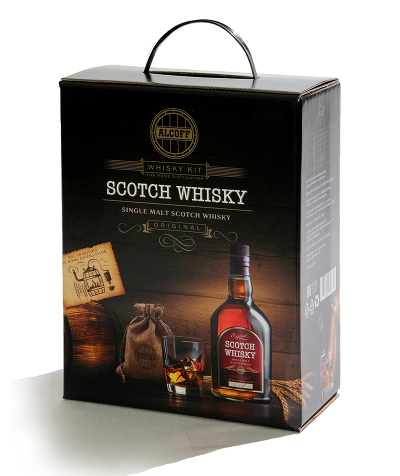 Set For Distillation SCOTCH WHISKY Scottish односолодовый Whiskey Full Set Must, Yeast, Wood Chips, Bentonite And Other