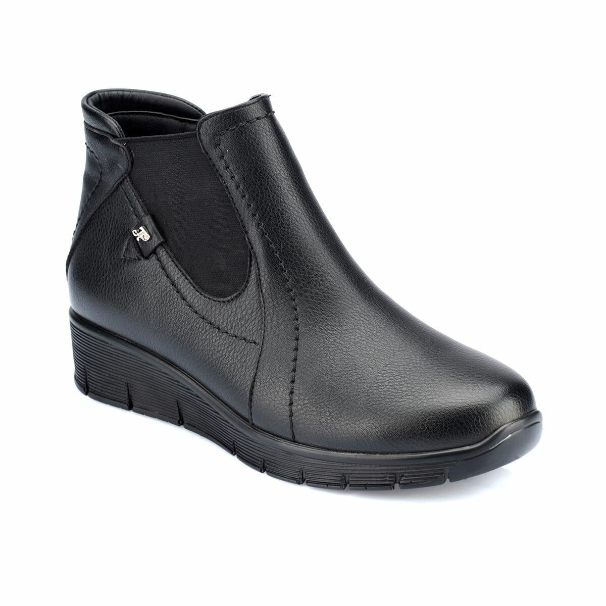 FLO 82.150306.Z Black Women Boots Polaris