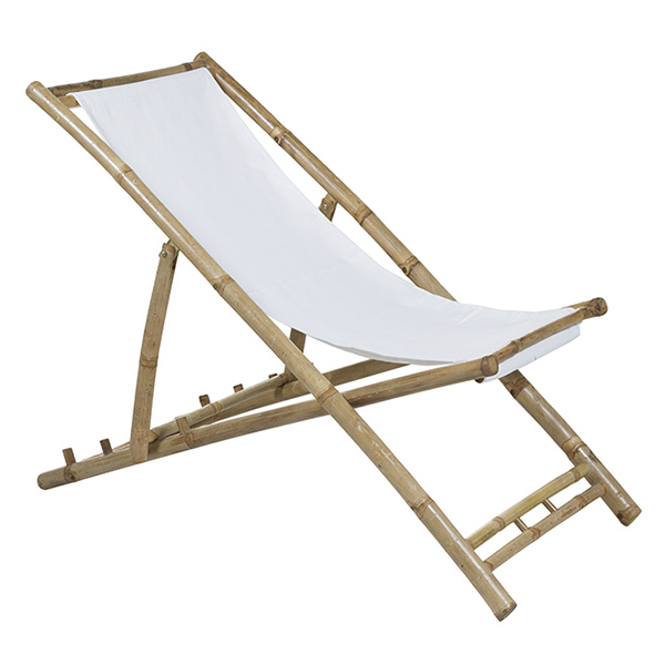 Chair (115 X 66 X 59 Cm) Bamboo White