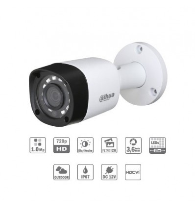 Surveillance Camera Bullet IP For Outdoor With Night Vision 20m HD CCTV Brand Dahua Without Wifi