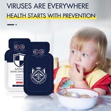 48 шт в штучной упаковке одноразовые защитные нет-мыть безводной антибактериальный гель для рук портативный дезинфицирующее Quicng Sanitizerk-dryi