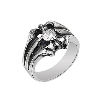 Silver 925 Sterling Zircon Stone Ring