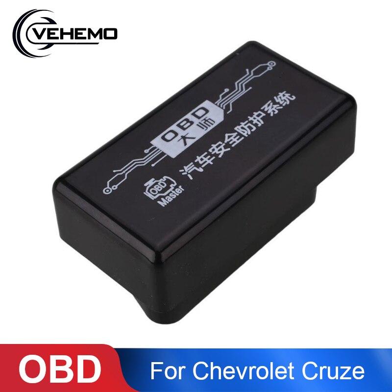 Vehemo araba için OBD pencere kapatıcı Cam Açma/Kapama Modülü Sistemi Için Chevrolet Cruze 2009-2014 Asansör Kapı Closer