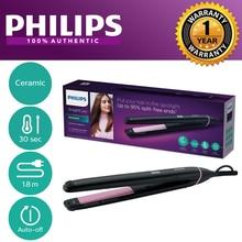 Philips BHS675 Hair Straightener Fast Heat Up Ceramic Plates Flat Iron Digital Display Professional Straightening Hair Curlers