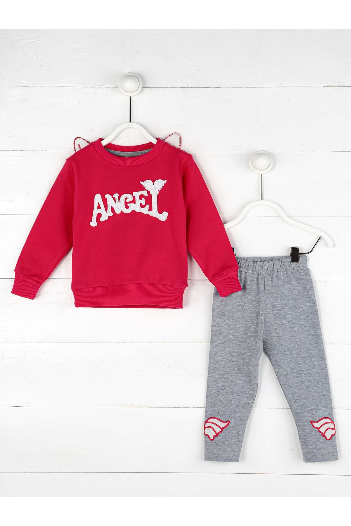 2020 Girl Clothes Autumn Toddler Kids Sets Angel Long Sleeve Costume Children's Clothing Set Sweatshirt + Tights Pants Suits Pants Model