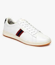Lacoste shoe Carnaby evo tricolour Color White Casual Man Sports Tennis