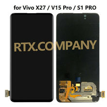 For VIVO X27 V15 PRO S1 pro V1829T V1829A V1829 V1838T V1838A V1838 LCD Display Screen Touch Panel Digitizer Assembly 100%Tested(China)