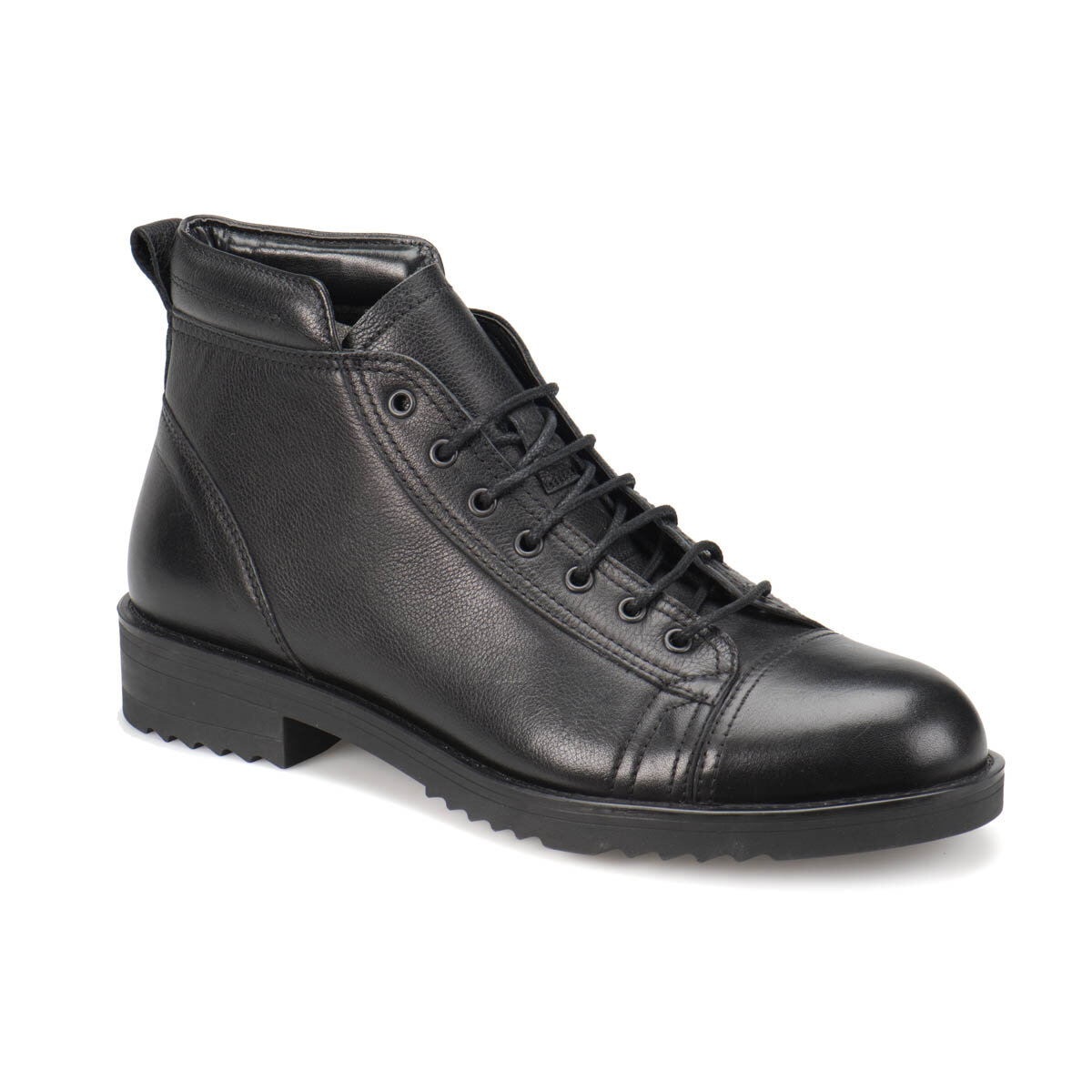 FLO 4752 Black Men Boots Oxide