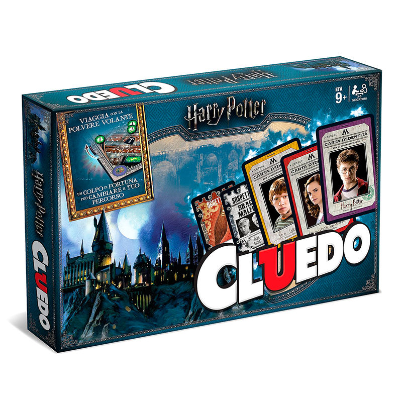 Cluedo game Harry Potter image