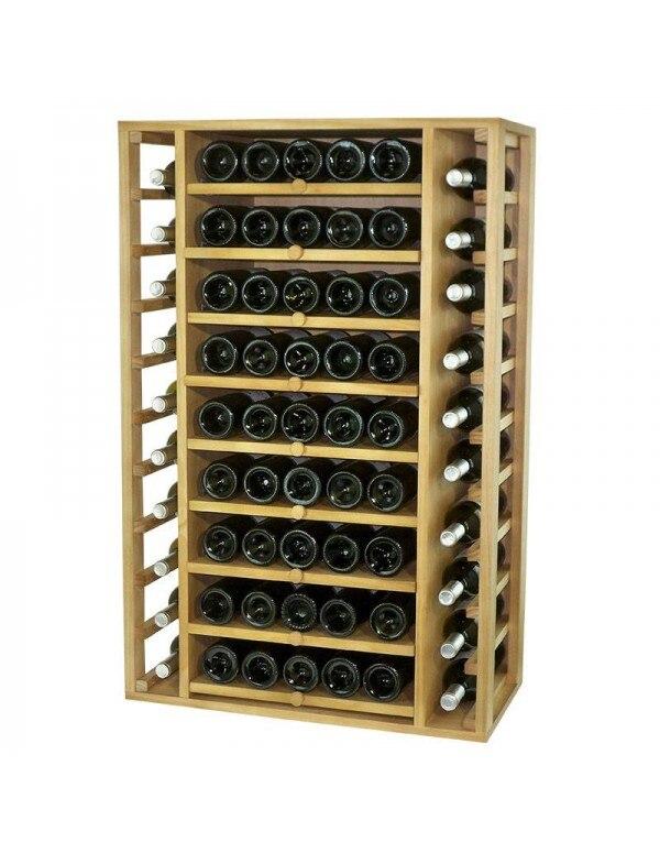 Botellero Baldas Extraibles 65 Botellas