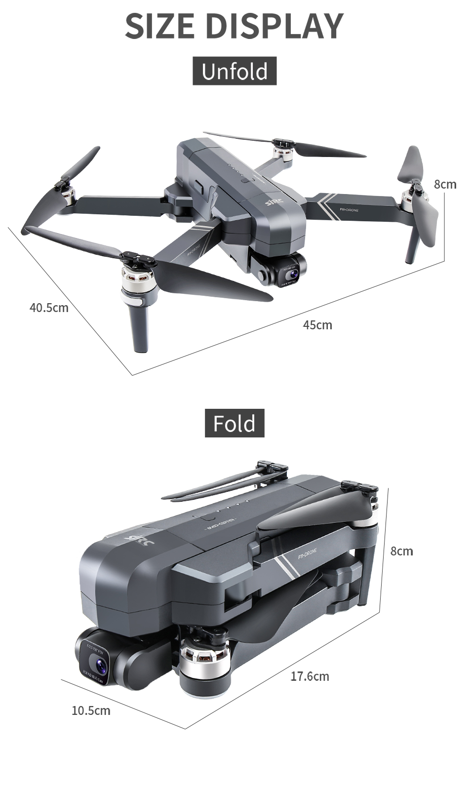 U6b6fe09219df476ca9dadea8689a88a5l - NEW SJRC F11S 4K PRO Video Camera Drone Professional GPS 2Axis Mechanical EIS Gimbal Quadcopter Brushless Dron Max Flight RC 3KM