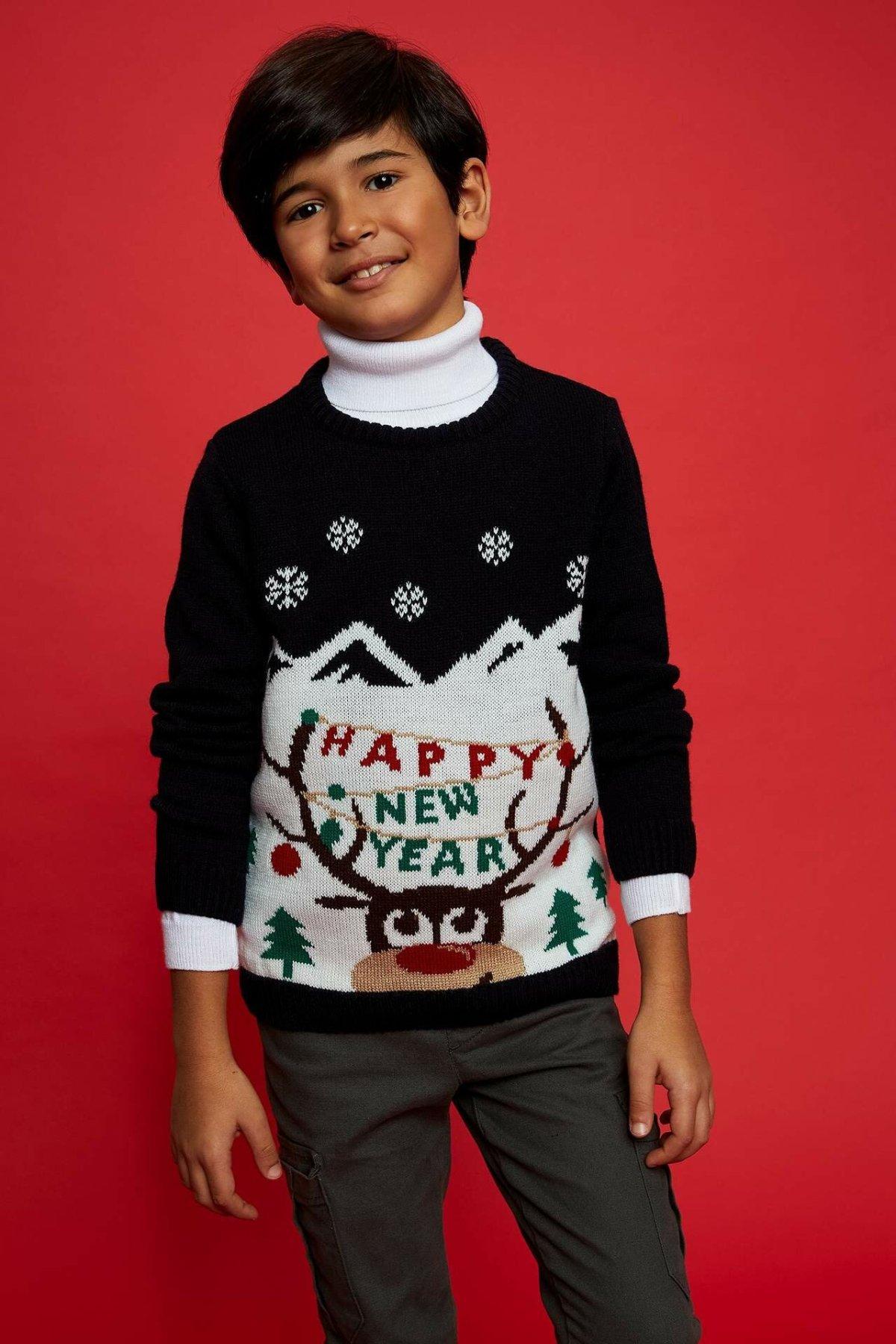 DeFacto Boy Pullover-L8431A619CW