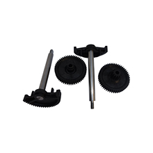 Bross BGE38 2 Sets 4 Pieces Throttle Body Actuator Gear Repair Kit 13627838085, 13627834494, 13627834494 for BMW M3 M5 M6