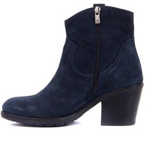 Image 3 - Sail Lakers Denim Blue Women S Suede Boots