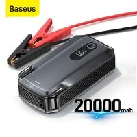 Baseus 20000mAh Car Jump Starter Power Bank 2000A 12V caricabatteria portatile Auto Booster di emergenza dispositivo di avviamento Jump Start