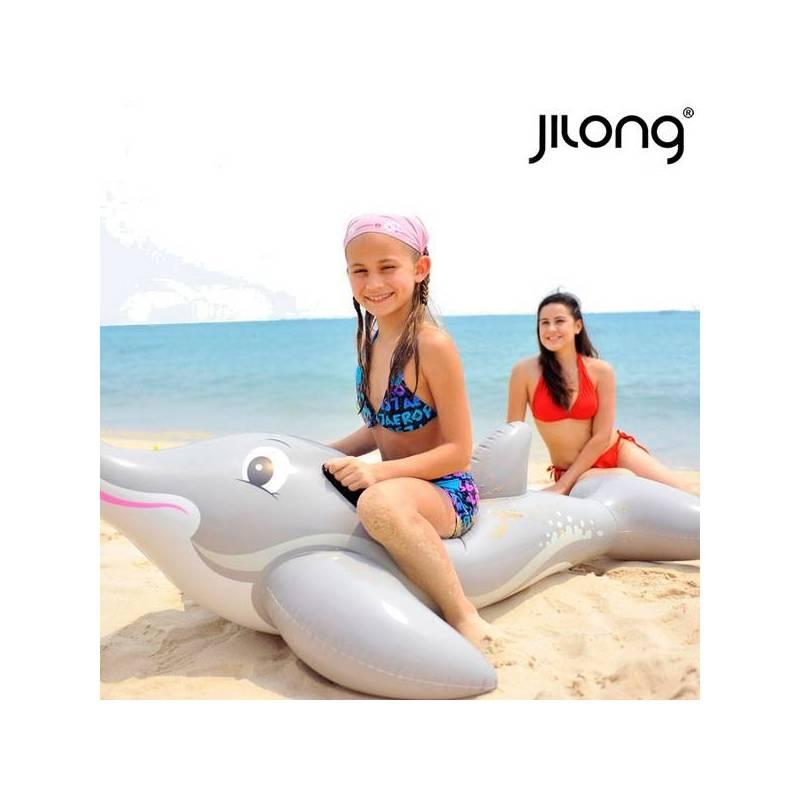 Inflatable Mattress Dolphin Rider Jilong 18736 (152x90 Cm)