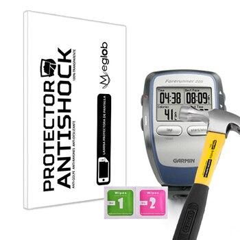 Protector de pantalla Anti-Shock Anti-arañazos Anti-rotura compatible con Reloj GPS Garmin Forerunner®205