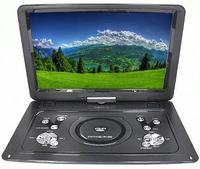 DVD portátil-плеер Eplutus EP-1516Tc sintonizador digital DVB-T2 16 ''TFT-LCD tela 1920х1080 bateria