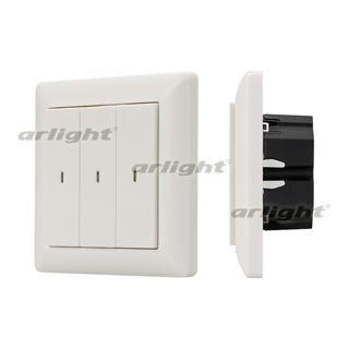 023849 Panel Knob SR-KN0300-IN White (KNX, DIM) Box-1 Pcs ARLIGHT-Управление Light/Lot KNX/^ 83