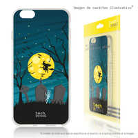 FunnyTech®Stand case for Samsung Galaxy S9 Silicone L Witch Halloween fund